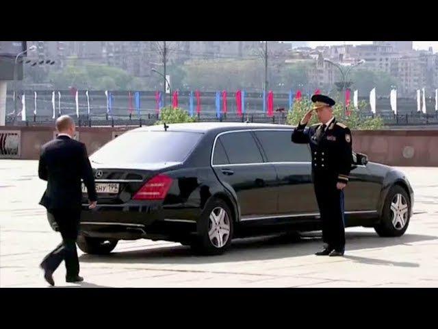 Putin's Extraordinary Alpha Male Walk