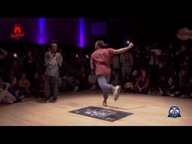 Popcity UK vol.3 Hip Hop Semi Final Rochka vs Evion