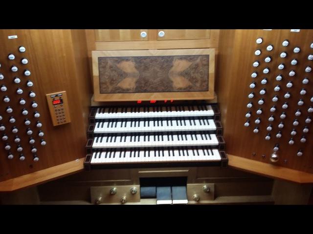The largest pipe organ in Ukraine - Kharkiv regional Philharmonic / Самый большой орган в Украине