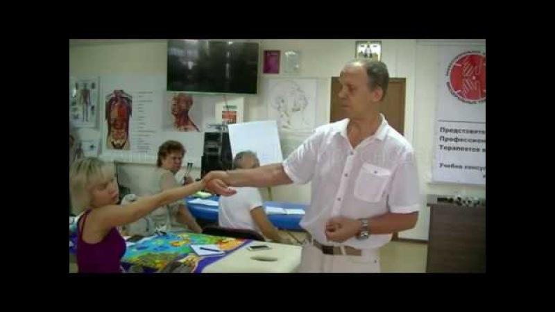 Практическое занятие доктора висцеральной терапии Огулова А. Т.