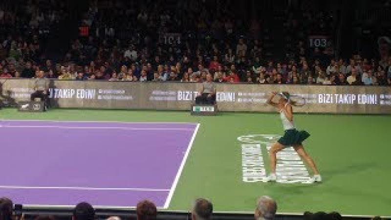Maria Sharapova - Çağla Büyükakçay İstanbul TEB BNP Paribas Tenisin Yıldızları Serisi Maçı