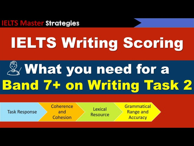 IELTS Writing Task 2 Scoring - What you need for a Band 7 score