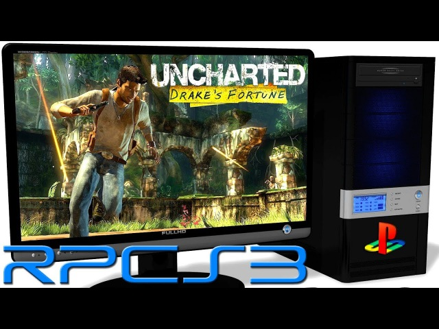 RPCS3 0.0.4 PS3 Emulator - Uncharted: Drake's Fortune (Ingame) LLVM Vulkan (Auto LLE) 1