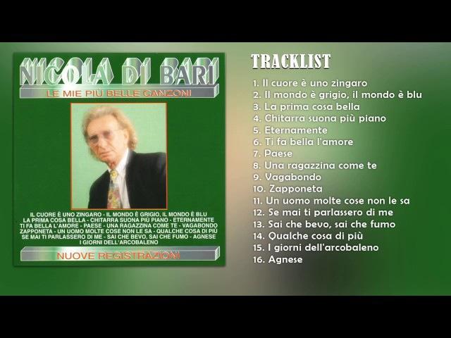 Nicola Di Bari Le mie più belle canzoni