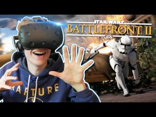 PLAY STAR WARS: BATTLEFRONT IN VIRTUAL REALITY! | Star Wars: Battlefront 2 VR (HTC Vive Gameplay)