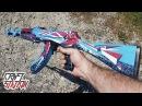Как сделать АК 47 Буйство Красок CS GO DIY AK 47 Point Disarray