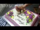 Cách Trang Trí Bánh Sinh Nhật Đẹp Chỉ Đơn Giản Với Hoa Là Đủ