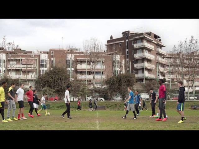 Прикольный клип про футбол