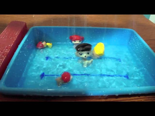 LITTLEST PET SHOP OLYMPIC WATER GAMES ENGLISH