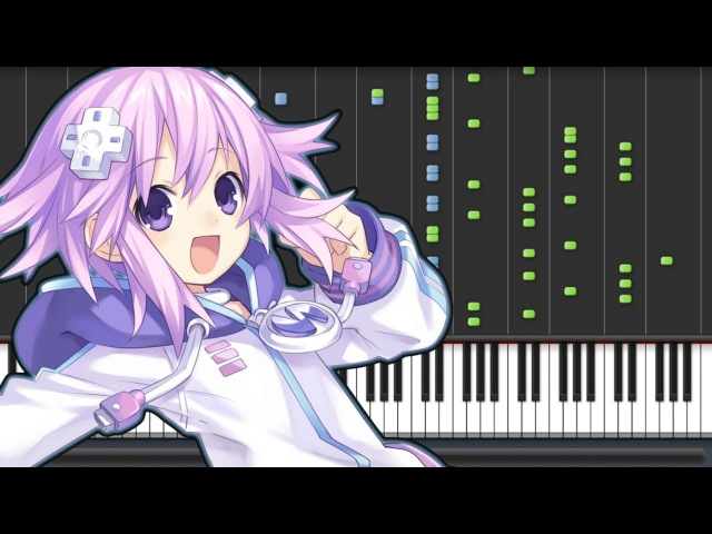 Miracle! Portable☆Mission - Hyperdimension Neptunia Re;Birth 1 Opening (Piano Synthesia Sheet)