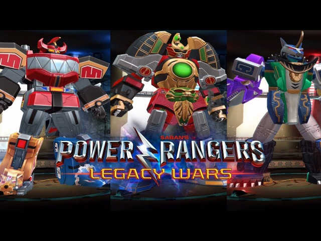 Power Rangers Legacy Wars - Megazord Mode Gameplay | Mighty Morphin Wild Force | Predazord