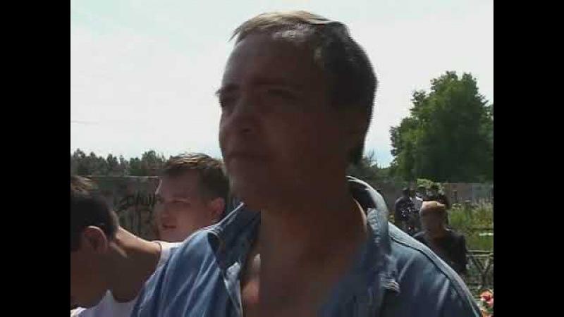 Благодарность и пожелания от Вадима Глухова поклонникам Сектора 2007г ч 2
