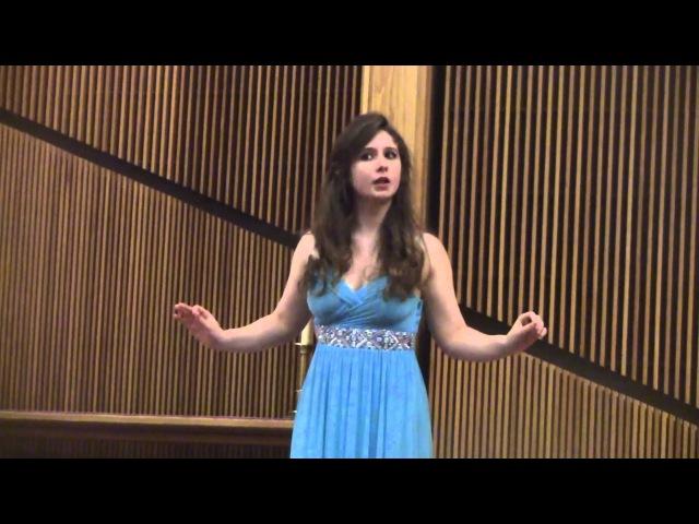 16 year old soprano Solene Le Van sings Voi che sapete