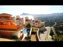 Вилла с видами на Средиземное море и горы в Altea Hills недвижимость Испании