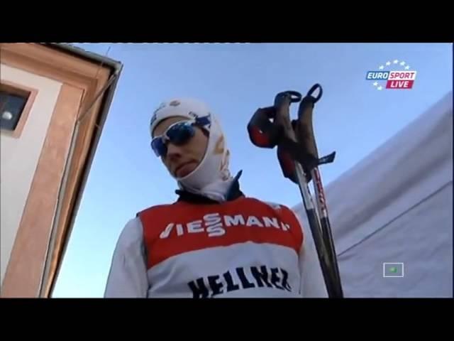 Лыжные гонки Тур де Ски Сезон 20122013 Кортина Тоблах Гонка преследования, свободный стиль, 35 к
