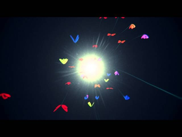 【Motion Graphics】 Butterflies fly 2