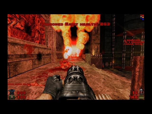 Brutal Doom: Black Edition v3.1d - Doom Slayer Chronicles (Arena) [Dev]