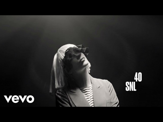 Sia - Chandelier (Live on SNL)