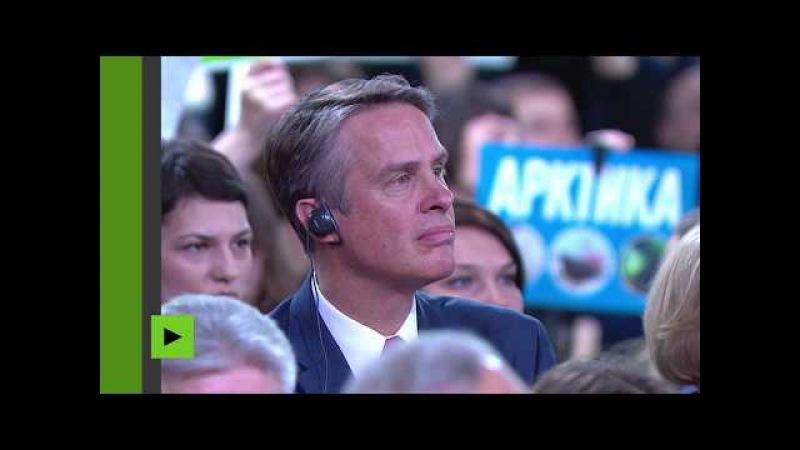 RT sous pression aux Etats Unis Quid de la liberté de la presse se demande Vladimir Poutine
