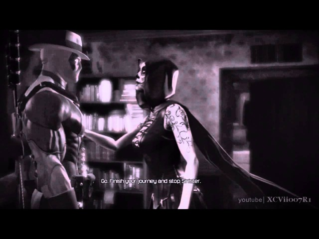 Deadpool (Video Game) - Noir Scene with Death (Xbox 360 PS3 PC) HD