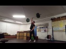 Old School Weightlifting: One Arm Snatch 72kg
