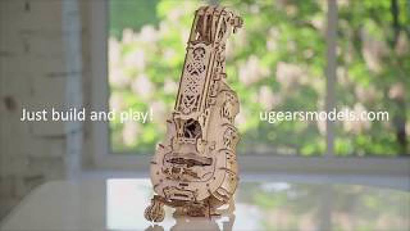 Сборная модель ХАРДИ-ГАРДИ от UGEARS