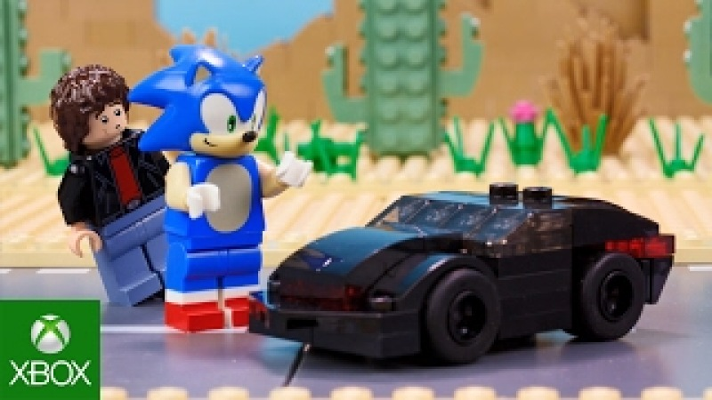 LEGO Dimensions | Meet that Hero: Sonic the Hedgehog Meets Knight Rider