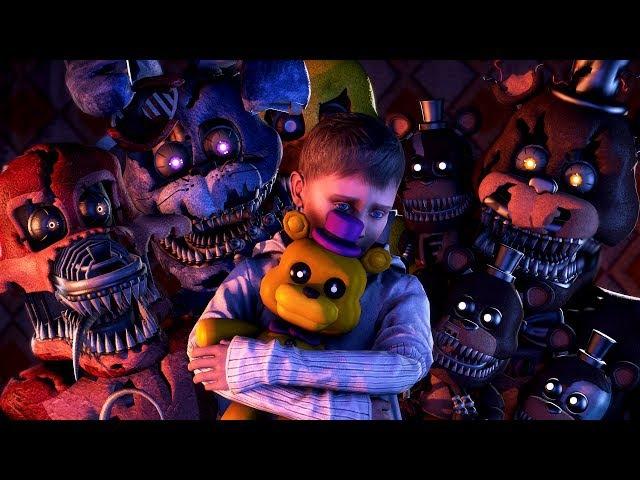 SFM FNAF Five Nights at Freddy's Animation Story 5 AM at Freddy's FNAF STORY ANIMATED