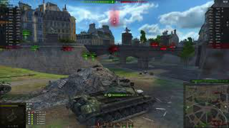 Париж бой на Т10