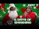 DAY TWO AJ STYLES obliterates the ATARI 2600 CONTROLLER! - 6 Days of Smashing