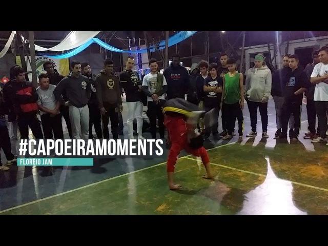 Capoeira moments. Floreio jam