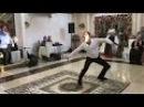Русский парень - москвич, классно танцует лезгинку в Грозном. Чеченская свадьба 2017