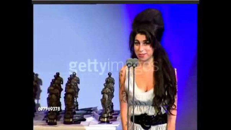 Amy Winehouse - Ivor Novello awards speech -24th May 2007.
