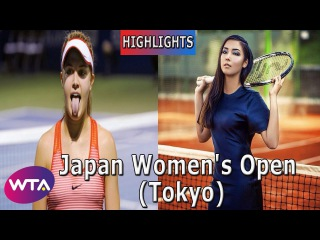 Yulia Putintseva vs Zarina Diyas Highlights Japan Women's Open Tokyo