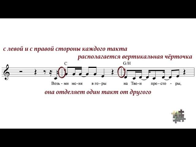 Музыкальная грамота, основы. 4 четверти