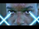 Коридор с лазерами. Красная королева убивает группу спецназа. Обитель зла. 2002