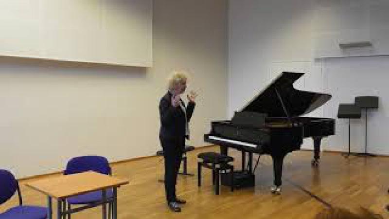 10.11.2017 Mira Marchenko's master-classes. M. Belokopytova M. Abgaryan. EAMT, Tallinn, Estonia