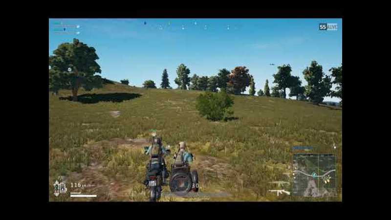 Белка и мотоцикл