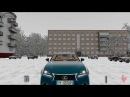 City Car Driving Lexus GS 350 F Snow Driving