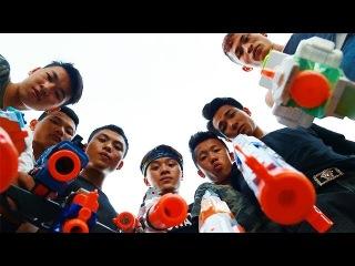 3T Nerf War : Squad Alpha Elite Police Nerf guns Revenge of the Bandits