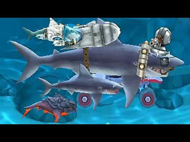 БЕССМЕРТНАЯ АКУЛА-МАКО! ~ Hungry Shark Evolution