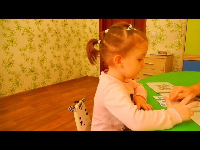 НЕГОВОРЯЩИЕ ДЕТИ: Формирование трехсложных слов КУКУШКА