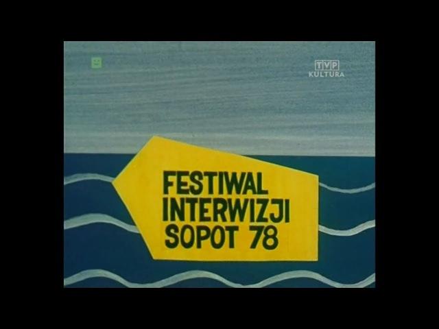 Документальный фильм Польского Телевидения о Конкурсе Interwizja 1978 года в Сопоте, в котором гран-при завоевала Алла Пугачева
