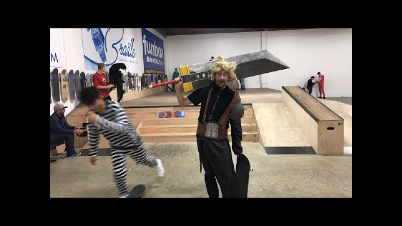 HALLOWEEN IN THE BRAILLE HOUSE TRICK CONTEST!