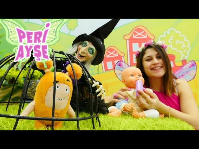 Peri Ayşe Oddbods Slick'i cadıdan kurtarıyor