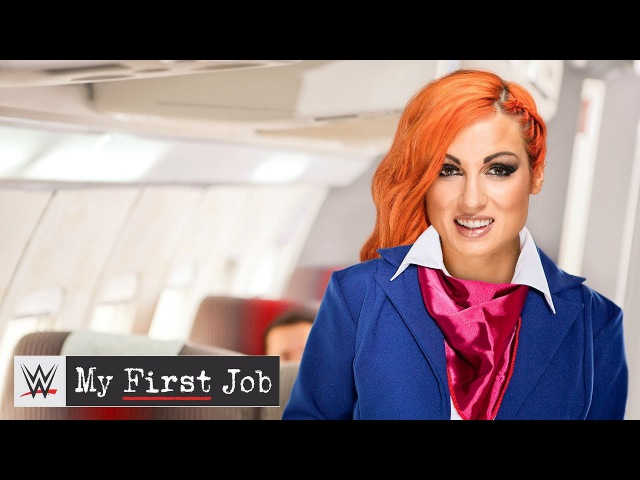 Becky Lynch's journey to becoming a WWE Superstar: WWE My First Job