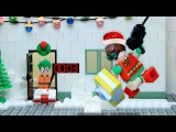 Lego Batman and Robin Christmas night mission