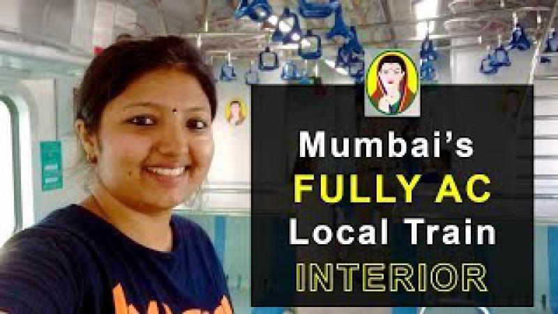 Mumbai AC Local Train Interior    Icepeak Travel