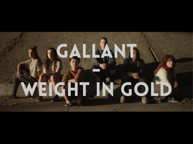 GALLANT - WEIGHT IN GOLD | A'Drey Vinogradov Choreography