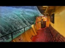 Корабли, попавшие в шторм. Видео изнутри. У людей стальные яйца